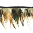 [055R-41645] [055R] Feather Fringe Long (Brown)