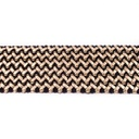 [209R-42695] [209R] Braided Elastic With Leather (Gold)