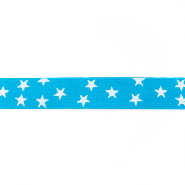 [227R] Elastic With Woven Star 25 mm