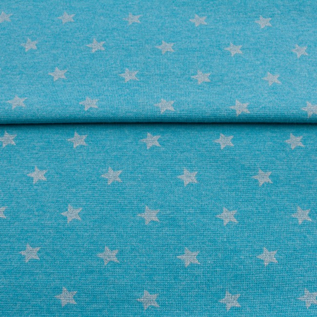 [326R] Heathered Ribbing With Glitter Star