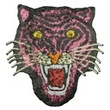 [447R-32365] [447R] Patches Tiger (Pink)