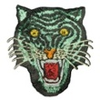 [447R-32366] [447R] Patches Tiger (Old Green)