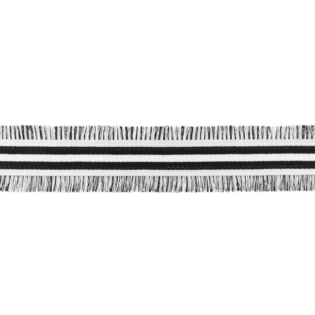 [507L] Fringe Trim Stripe