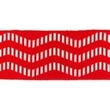 [547L-33335] [547L] Cuff Maritime Chevron (Red)