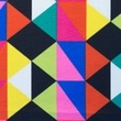[S048R-61998] [S048R] Printed Canvas (Triangle)