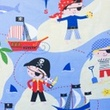 [S048R-62025] [S048R] Printed Canvas (Pirate)