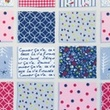 [S048R-62032] [S048R] Printed Canvas (Patchwork)