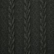 [S059R-60652] [S059R] Knitted Wool (Anthracite)