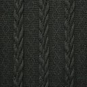 [S059L-60652] [S059L] Knitted Wool (Anthracite)