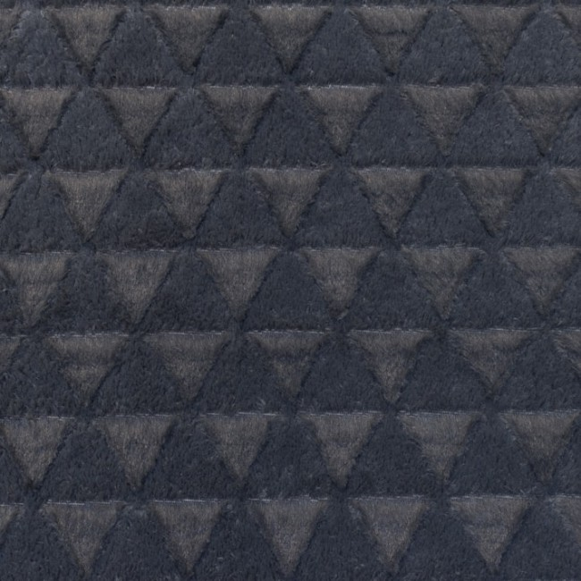 [S116R] Fur Fabric Triangle