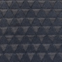 [S116L-60994] [S116L] Fur Fabric Triangle (Anthracite)