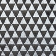 [S117R-61139] [S117R] Fur Fabric Triangle Silver (Anthracite)