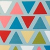 [S146R-61237] [S146R] Printed Canvas (Zigzag Triangle)