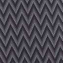 [S451R-63335] [S451R] Jersey Printed Knitted Chevron (Grey)