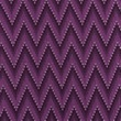 [S451L-63331] [S451L] Jersey Printed Knitted Chevron (Purple)