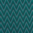 [S451L-63333] [S451L] Jersey Printed Knitted Chevron (Petrol)