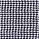 [S556L-64011] [S556L] Check Coat Fabric Black White Pied De Poule (Big)