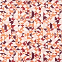 [S802R-65162] [S802R] Jersey Printed Geometric (Bordeaux)