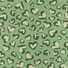 [S832L-65377] [S832L] Jersey Printed Hearts (Old Green)