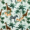 [S932R-181242] [S932R] Poplin Digital Printed Mix 2 (Jungle)