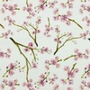 [S932R-181246] [S932R] Poplin Digital Printed Mix 2 (Blossom)