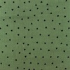[S941R-182174] [S941R] Double Gauze Cotton Little Triangles (Old Green)