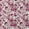 [S958L-182526] [S958L] Jersey Printed Flowerbed (Aubergine)