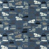 [S987L-182785] [S987L] Jersey Printed Construction Vehicles (Jeans)