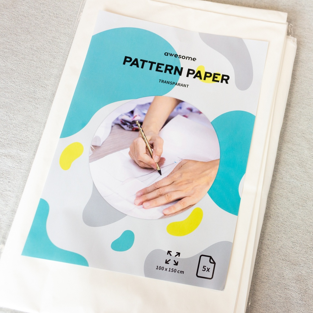 [682R] Pattern Paper Transparant