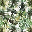 [S1014L-183062] [S1014L] Poplin Digital Printed Mix 7 (Leaves)