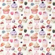 [S1025R-183018] [S1025R] Poplin Digital Printed Mix 18 (Cupcake)