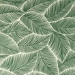 [S1051R-183543] [S1051R] Poplin Printed Banana Leaf (Old Green)