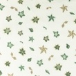 [S1062R-183815] [S1062R] Double Gauze Cotton Flat Flowers Snoozy (Old Green)