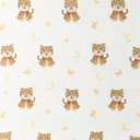 [S1067R-183229] [S1067R] Double Gauze Cotton Digital Printed Mix 6 Snoozy (Little Tiger)