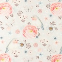 [S1101L-183097] [S1101L] Poplin Digital Printed Mix 35 (Wild Flower)