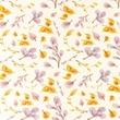 [S1108R-184691] [S1108R] Jersey Digital Printed Mix Aurora Snoozy (Leaves)