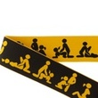 [672L-184277] [672L] Elastic With Woven Kamasutra 40 mm (Ochre)