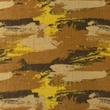 [S1157R-183936] [S1157R] Double Gauze Crinkled Printed Graffiti Camouflage (Camel)