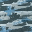 [S1157R-183938] [S1157R] Double Gauze Crinkled Printed Graffiti Camouflage (Jeans)