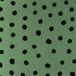 [S1154R-183643] [S1154R] Poplin Printed Draw Dots Snoozy (Old Green)