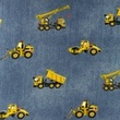 [S1179R-184764] [S1179R] Jersey Printed Jeans Construction Vehicles (Jeans)