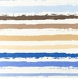 [S1197R-184887] [S1197R] Jersey Printed Paint Stripes Snoozy (Blue)