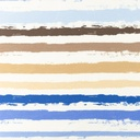 [S1197L-184887] [S1197L] Jersey Printed Paint Stripes Snoozy (Blue)