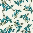 [S1204R-184914] [S1204R] Jersey Digital Printed Mix Sedna Snoozy (Leaves)
