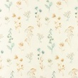 [S1206L-184926] [S1206L] Jersey Digital Printed Mix Aetna Snoozy (Little Flowers)