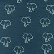[S1209R-184971] [S1209R] Jersey Printed Snoozy Elephant (Jeans)