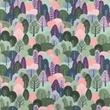 [S1215R-185013] [S1215R] Jersey Printed Forest (Dark Multi)