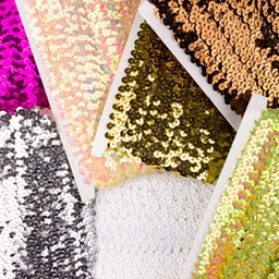 [094R] Stretchable Sequin Trim 30 mm
