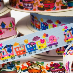 [151R] Printed Rib Ribbon Digital