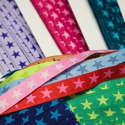 [313R] Cartoon Ribbon Star 2-Coloured